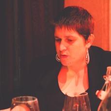 Megan talking theatre.