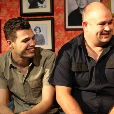 Alistair Trapnell as Greg, And Jake Honeychurch as Jeff in The Sum of Us